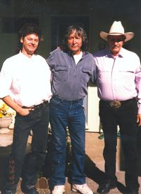 Mike with Jimmy Torres and Nokie Edwards